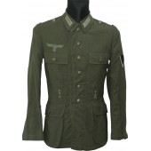 Wehrmacht Heer tunic, end of the war issue. Rare model.