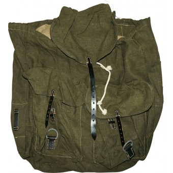 Wehrmacht or Waffen SS Backpack, mint. Unmarked.. Espenlaub militaria