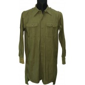 WW2 German Tropical shirt, DAK. Practically unused condition