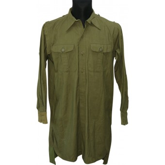 WW2 German Tropical shirt, DAK. Practically unused condition. Espenlaub militaria