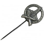 A member of the German Soldiers' Union - shooting badge, silver