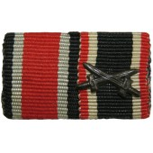 Ribbon bar of the War Merit Cross with Swords and the 1939 Iron Cross