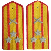 Shoulder straps of the colonel of artillery of the Red Army