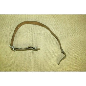 German Helmet chinstrap for M 35 helmet. Marked Paul Klopfer 1939, LBA.. Espenlaub militaria