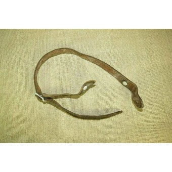 German Helmet chinstrap for M 35/40 helmet. Marked Paul Klopfer. Espenlaub militaria