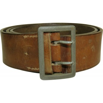 German leather officers belt, 1940.. Espenlaub militaria