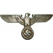 NSDAP cupal silver coated eagle. RZM 1/13