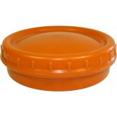Original German WW2 bakelite Orange Butter Dish (Butterdose)