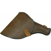 Post war brown artificial leather Nagant 1895 holster
