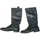 Red Army long leather boots.
