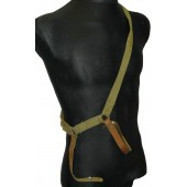 Soviet M 27 saber cotton/leather combat stripe, 1942