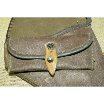 Soviet Russian M 42  universal artificial leather holster, dated 1942.. Espenlaub militaria