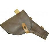 Soviet Russian M 42  universal artificial leather holster, dated 1942.