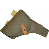 Soviet Russian M 42 universal artificial leather  holster, ww2 period made.