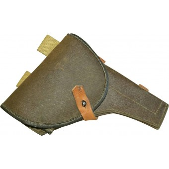 Soviet Russian M 42 universal artificial leather  holster, ww2 period made.. Espenlaub militaria