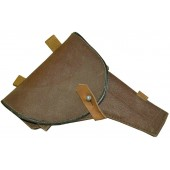 Soviet Russian M 42 universal artificial leather made holster dated 1948 year