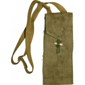Soviet Russian, traffic controller flags bag