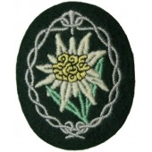 Wehrmacht Heer, sleeve patch for Gebigsjager