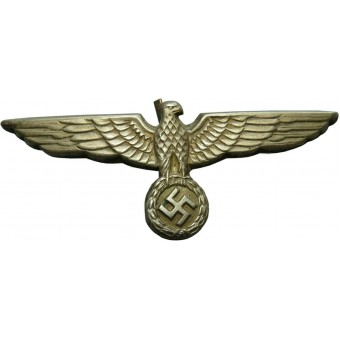 Wehrmacht Heer, very nice early eagle for visor hat. Espenlaub militaria