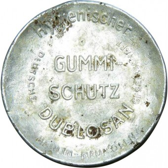 WW2 German condoms box Gummi-Schutz. Espenlaub militaria