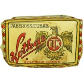 "WW2 or pre-war Tobacco pack ""Kotkas"", made in Soviet Estonia"