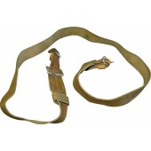 WW2 pattern Mosin-Nagant rifle shoulder leather sling in mint condition