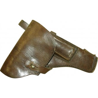 WW2 period made Soviet Russian leather holster for TT 33 pistol.. Espenlaub militaria