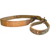 WW2 PPD, PPsch leather sling, remake from a Canadian made WW1 rifle slings.
