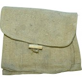 WW2 Soviet canvas F1/RG 42 grenade pouch for 3 grenades