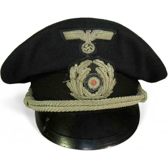 3rd Reich Kriegsmarine visor hat for an officer in administration. Espenlaub militaria