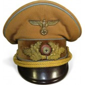 NSDAP Political visor hat for the Orts level (Ortsleitung)
