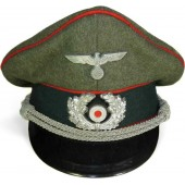 Wehrmacht Heer artillery officers visor hat by Pekuro