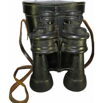 WW2 German Kriegsmarine Binoculars with a case for U-Boat crew. Espenlaub militaria