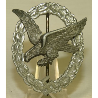 Air Gunner Badge Without Lightning by B and NL, Luftwaffen-Fliegerschutzen-Abzeichen. Espenlaub militaria