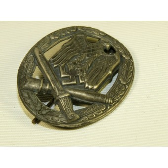 Early brass die stamped Allgemeine Sturmabzeichen - General Assault badge. Espenlaub militaria