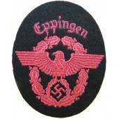 Eppingen euerschutzpolizei Fire protection police sleeve eagle