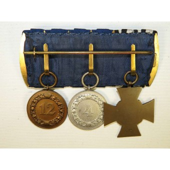 Faithful service in Wehrmacht Heer medal bar. Espenlaub militaria