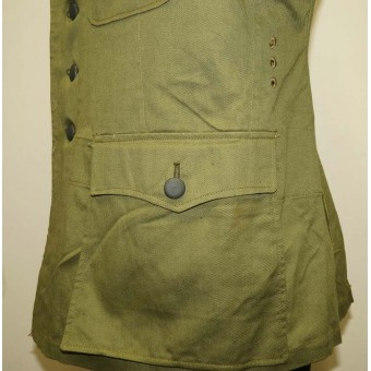 Heeres DAK M 42 Artillery tunic in mint, unissued condition. Espenlaub militaria