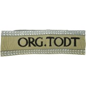 Higher officer of Organisation Todt cufftitle