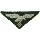 Luftwaffe breast eagle for Field summer Drillich uniform for Field divisions