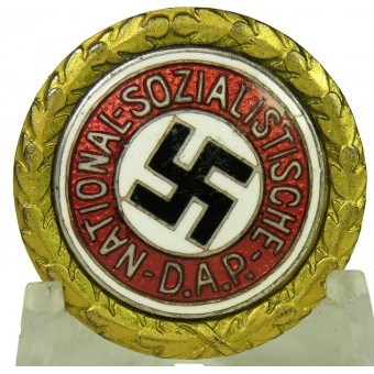 NSDAP gold party badge 97830, small size -24 mm