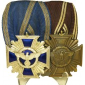 NSDAP Long Service medal bar