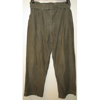 U-Boat crew uniform cotton tunic and trousers. Espenlaub militaria