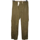 Wehrmacht Heer DAK Straight Legged Combat Trousers