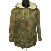 Wehrmacht Heer Sumpftarnmuster or Tan-Water camouflage winter reversible parka