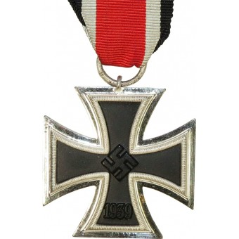 3rd Reich Iron Cross, marked 13 for Gustav Brehmer. Espenlaub militaria