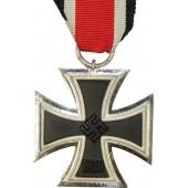 "3rd Reich Iron Cross, marked ""13"" for Gustav Brehmer"