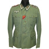 "Oberfeldwebel's of 227 Artillery Regiment Lightweight  ""Ostfront""  tunic"