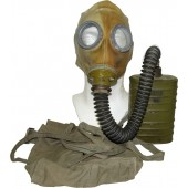 Gasmask BS with ShM1 rubber mask, filter MO-2 and carrying bag