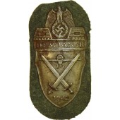 Demjansk shield sleeve award, 1942
